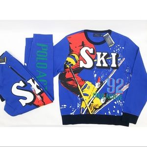 Ralph Lauren Polo 1992 Fall Collection Sweatsuit